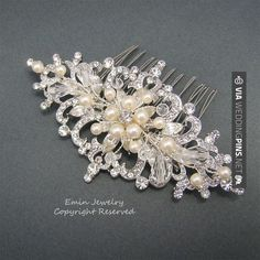 Neat! - wedding hair accessories Wedding Hair Accessories Vintage Bridal Hair Combs by adriajewelry | CHECK OUT MORE GREAT PHOTOS OF TASTY wedding hair accessories HERE AT WEDDINGPINS.NET | #weddinghairaccessories #weddinghair #hair #hairaccessories #hairstyles #hair #boda #weddings #weddinginvitations #vows #tradition #nontraditional #events #forweddings #iloveweddings #romance #beauty #planners #fashion #weddingphotos #weddingpictures
