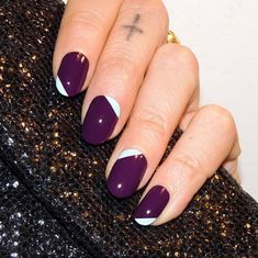 5 New Nail Designs That Are Really Easy to DIY - Awesome Angles  - from InStyle.com