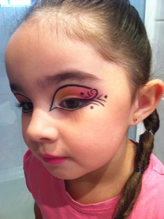 Cute party makeup for kids!