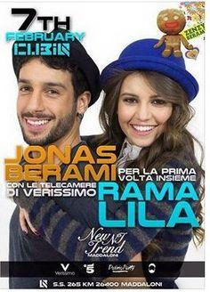 Jonas Berami e Rama Lila Giustini domani saranno al Cubiq