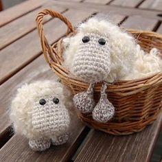 Etu the sheep amigurumi pattern  схемка скачана в папку вязание-загрузки кучерявый баранчик