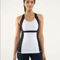 I just added this to my closet on Poshmark: Lululemon POLKA DAT workout top built in bra. Price: $50 Size: 2