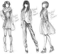 Bildergebnis für modedesigner skizzen kleid