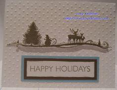 Love 2 Create - Christmas/Holiday card