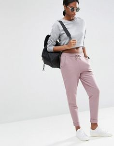 ASOS Washed Joggers with Luxe Elastic Waist