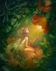 CalidaandtheDiamond.jpg .... Annie Stegg fine art