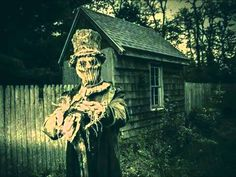 the veil between the living and the dead is always thinnest at Halloween. Favorite Holiday, Documentaries, Creepy, Minimalism, Cabin, Statue, Halloween, Dark, House Styles