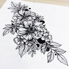 yanina VILAND @yaninaviland #Flowerstattoo #t...Instagram photo | Websta (Webstagram)