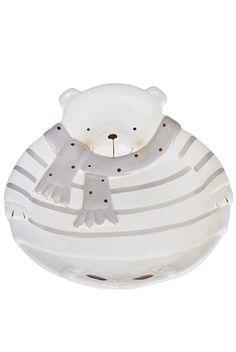 Тарелка декор. «Полярный мишка»