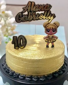 Lol Doll Cake, Baby Dolls For Kids, Funny Birthday Cakes, Character Cakes, Bday Girl, Lol Dolls, Princess Party, How To Make Cake, Cake Toppers