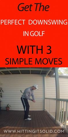 Discover how to get the perfect downswing in golf with 3 simple moves that improve your contact and consistency. Discover how to get the perfect downswing in golf with 3 simple moves that improve your contact and consistency. Golf Downswing, Play Golf, Mens Golf, Golf Swing Takeaway, Cheap Golf Clubs, Golf Shafts, Golf Apps, Golf Pride Grips, Golf Putting Tips