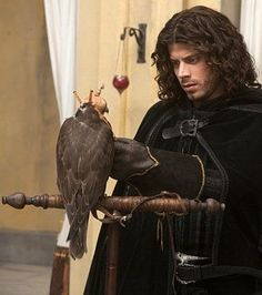 Cesare Borgia played by the great François Arnaud on Showtime.