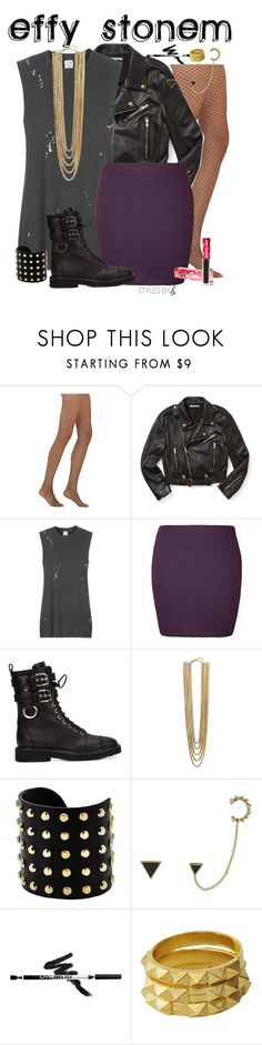 """""""Untitled #681"""" by bryanaellen ❤ liked on Polyvore featuring Wolford, Rebecca Minkoff, Topshop, WearAll, Giuseppe Zanotti, Vince Camuto, Michael Kors, House of Harlow 1960, Luv Aj and Lime Crime"""