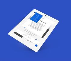 Responsive Design — A news on Behance