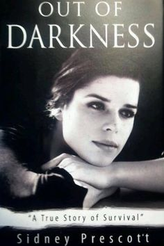 Prop book from SCRE4M -- Sidney Prescott's OUT OF DARKNESS.