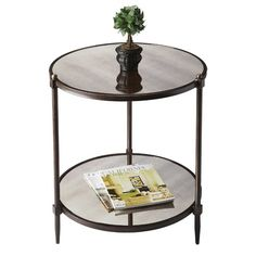 I pinned this Butler Metalworks Side Table from the Brilliant Finds event at Joss & Main!