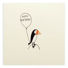 Send this lovely puffin to deliver your birthday wishes.