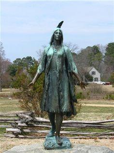 (VIRGINIA) Pocahontas at Jamestown
