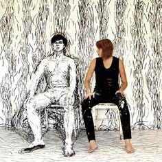 A artista de body painting que transforma o corpo em uma obra de arte