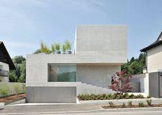 #Fachadas: House-D, Bevk-Perovic-Arhitekti #arquitectura