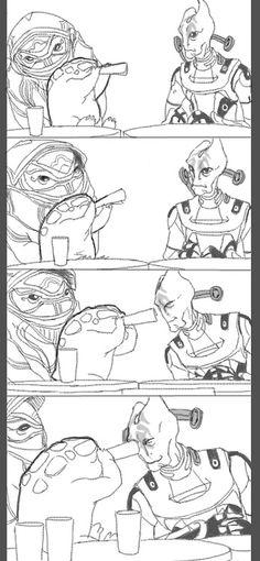 Mordin, Mass effect Mass Effect Funny, Mass Effect Games, Mass Effect Art, Mordin Solus, Mass Effect Universe, Video Game Art, Video Games, Saga, Commander Shepard