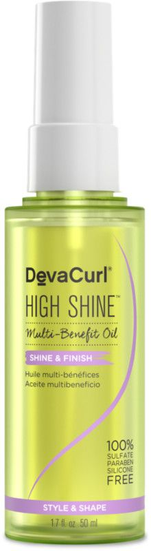 1d32c85d4c4 The DevaCurl High Shine Multi-Benefit Hair Oil is a lightweight silicone  free hair oil. ULTA Beauty