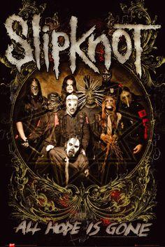 Slipknot Is Gone - Official Poster. Official Merchandise. Size: 61cm x 91.5cm…