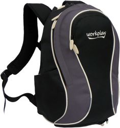 Gymwise II Ladies Commuter Backpack - Black   Grey Commute To Work,  Toiletry Bag, 0594bd8951