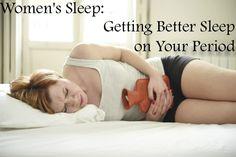 Women's Sleep Series: Getting Better Sleep on Your Period