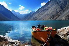 Satpara Lake. pakistan