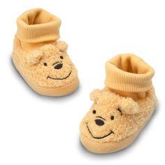 WINNIE THE POOH Plush Slippers