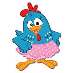 Resultado de imagem para galinha pintadinha rosa com saia
