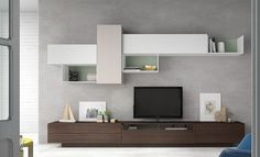 Mueble apilable de Antaix :: Muebles Mobel – Anime pictures to hairstyles Living Room Tv Unit, Living Room Modern, Home Living Room, Living Room Designs, Modern Bedroom, Tv Cabinet Design, Tv Unit Design, Tv Unit Furniture, Living Room Furniture