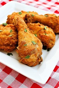 Spicy Southern Fried Chicken: Add a cup of hot sauce to the batter for a kick.