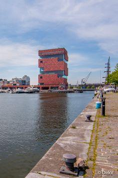 Antwerpen, M.A.S., Museum aan de Stroom, België.  Antwerp, Belgium.