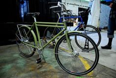 Hand made military bicycle