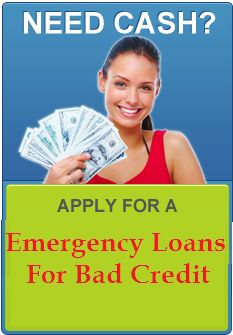 Emergency loans for bad credit are easiest financial assistance for borrowers to deal with all unforeseen cash worries on time without facing any troubles. Read more..