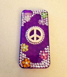 iPhone 5 Swarovski Crystal case on Etsy, $40.00