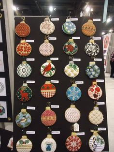 Whimsy & grace Needlepoint Ornaments