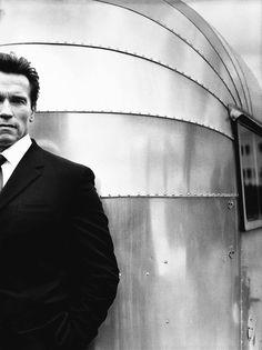 Arnold Schwarzenegger by Nigel Parry