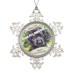 Customize it! - Puppys First Christmas Keepsake 2 Snowflake Pewter. Christmas Puppy, First Christmas Ornament, Merry Christmas, Snowflake Ornaments, Snowflakes, Happy Holidays, Dog Holidays, Personalized Ornaments, Family Memories