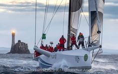 Rolex Fastnet Race 2017<br /> <br /> Cqs, Sail No: AUS 11111, Class: IRC Zero, Owner: Ludde Ingvall, Type: Supermaxi