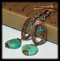 Desperado... Handmade Jewelry Earrings Beaded by Fanceethat