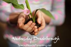 Wednesday Breakthrough - on the benefits of receiving a diagnosis