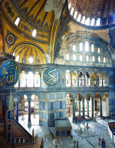 Hagia Sophia, in Istanbul (Turkey) - I've been wanting to go there since learning about the Middle East in grade history Hagia Sophia Istanbul, Sacred Architecture, Travel And Tourism, Istanbul Turkey, Wonderful Places, Big Ben, Places To Visit, Around The Worlds, Middle East