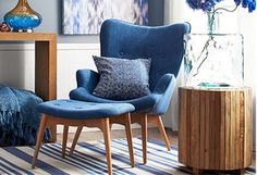 You know the look you want: a specific mid-century mood, a '60s and '70s groove. Modern silhouettes. Button tufted upholstery. Angled wooden legs on chairs, couches, and end tables, too. But don't rely solely on tradition. Swap out bright and bold hues for blues and greys to cool off your living space. Go retro, but do it your own way.http://www.allmodern.com/deals-and-design-ideas/Love-This-Look%3A-Mid-Century-Modern~E19154.html?refid=SBP.rBAZEVU4-KmgBXSwzrtZAlSnFxsHYUvwsRhC1AJZ1YI
