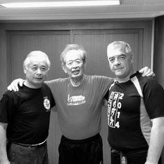 Bujinkan  (Grand Master)Soke Masaaki Hatsumi along with his students and friends.