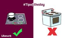 Cook top controls should be designed for easy one-hand operation & positioned to avoid reaching over hot elements. Oven Top, Tip Of The Day, Playing Cards, Positivity, Cook, Easy, Tips, Design, Playing Card Games