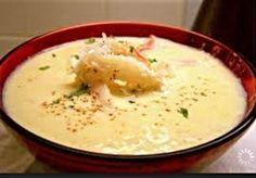 Louisiana crab, shrimp and corn bisque. This is Marcelle Bienvenu's recipe.