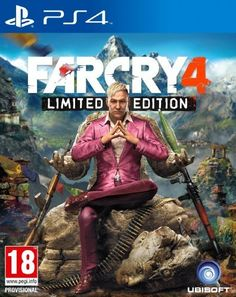 Far Cry 4 Limited Edition - Playstation 4 - (Action Adventure)